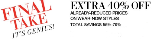 Lord & Taylor offer