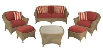 Martha Stewart Living Lily Bay Collection 6 Pc Spice Casual Seating Set