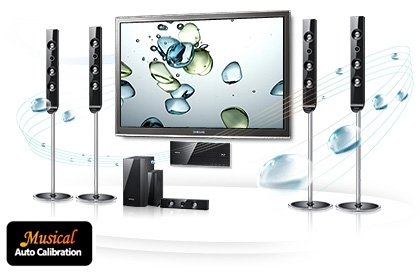 Samsung HTC6930W 3D Blu-ray Home Theater System