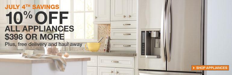 Savings on Home Appliance