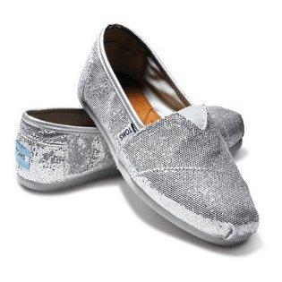 Silver Womens Glitters