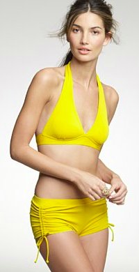 Solid wide-band halter top