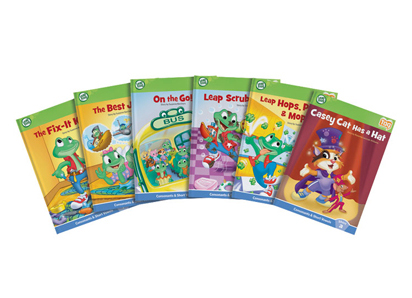 Tag Learn to Read Phonics Book Series - Short Vowels