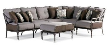 Thomasville Furniture Summer Silhouette 4 Pc Sectional Set