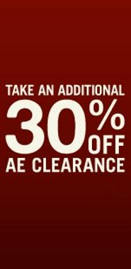 American Eagle Outfitters Clearance