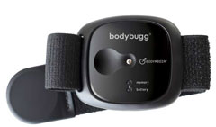 Bodybugg Calorie Management System: BLACK Frame