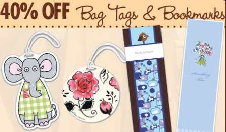 expressionery bag tags and bookmarks