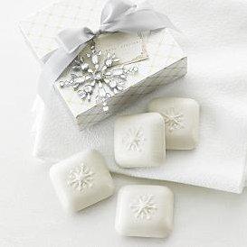 gianna rose snowflake soaps