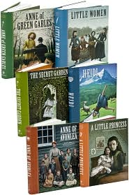Girl Books Set (Sterling Unabridged Classics)