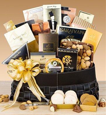 Gourmet Extravagance Gift Basket