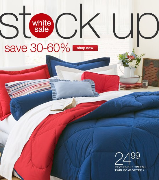 JC Penney Bedding Collections at 30 off prices