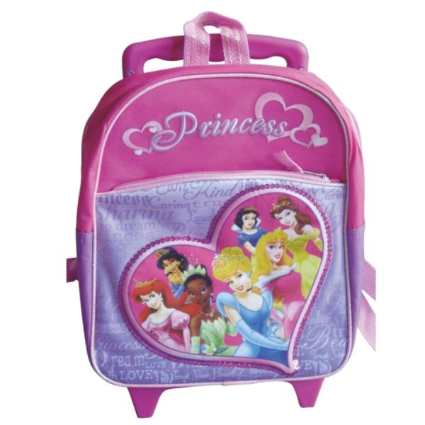 Kids Charter Princess Rolling Backpack