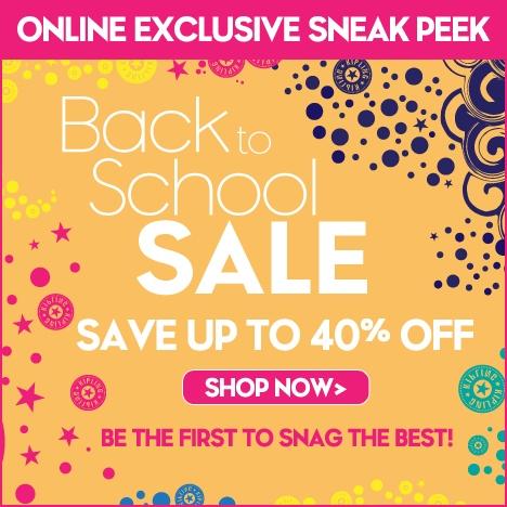 Kipling Back to School sale