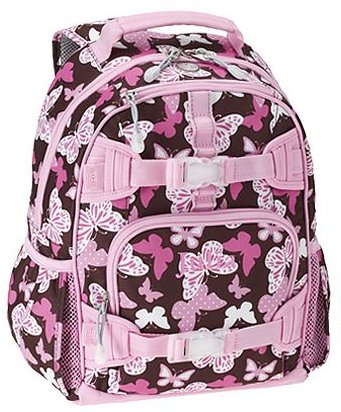 Mackenzie Backpack, Chocolate Butterfly