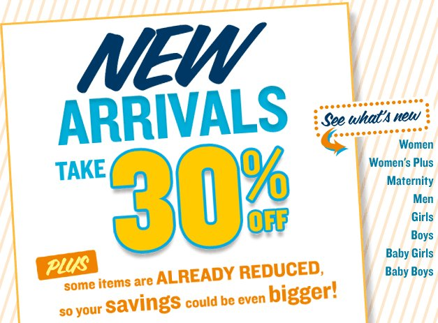 old navy new arrivals