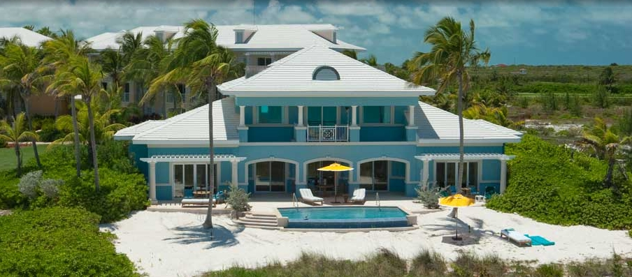 royal estate 2 story 1 bdr. beachfront suite with pool