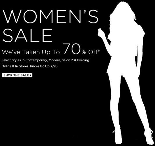 Saks Fifth Avenue women sale