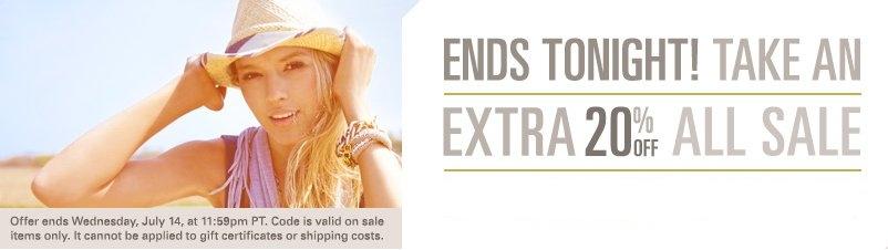 Save extra with ShopBop.com