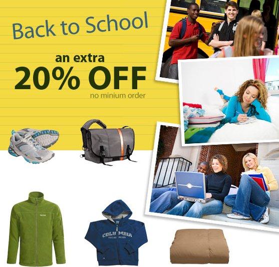 School supplies online shopping