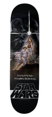 Star Wars Movie Poster Skateboard