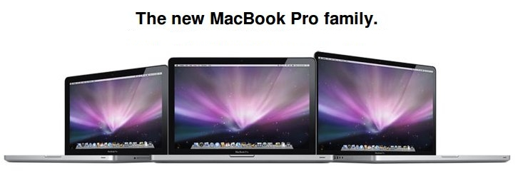 The New MacBook Pro Family
