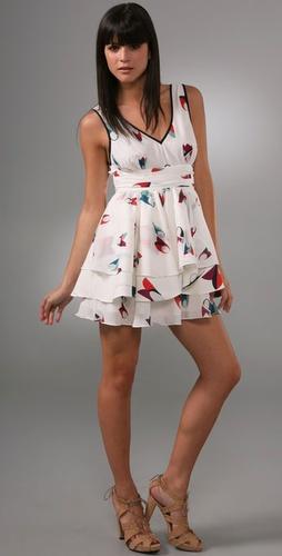 Thread Social,Tulip Print Dress