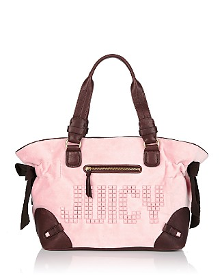 Juicy Couture Splendour Studded Velour Tote