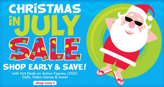 toys r us christmas in july sale