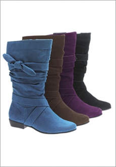 Wide Calf Boots by Comfortview