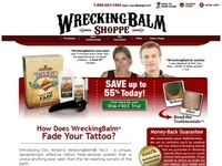 WreckingBalm Tattoo Removal