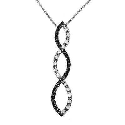 Diamond Journey Infinity Pendant