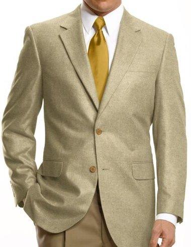 Executive 2-Button Silk Sportcoat