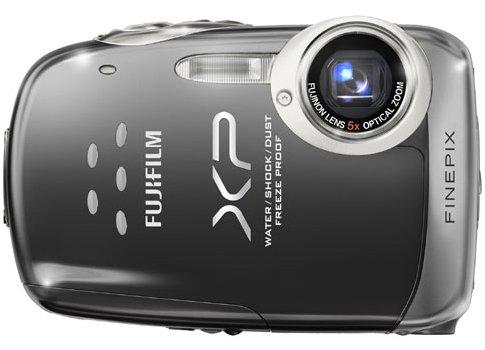 FinePix XP10 Black 12 MP 5X Zoom Digital Camera