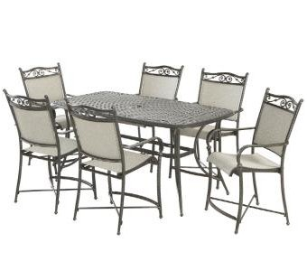 Hampton Bay Venice II Balcony Height Dining Set