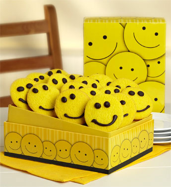 Happy Face Cookie Gift Box