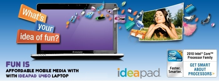 Introducing IdeaPad U460
