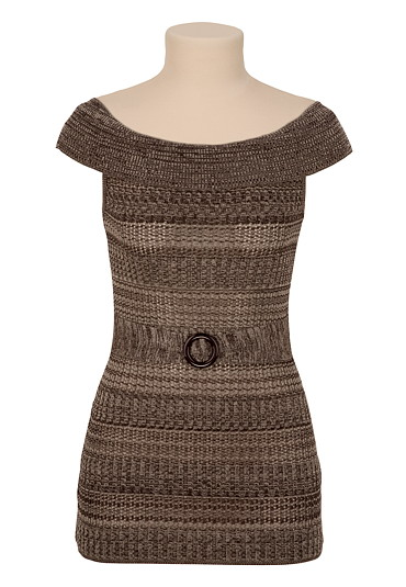 Pullover Tunic with Belt