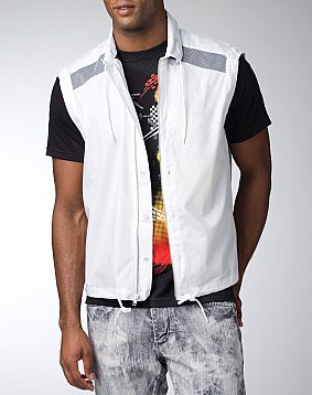 SJ Sleeveless Front Shirt
