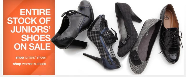 Sears Juniors Shoes Sale