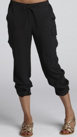 Slouchy Cargo Cropped Pant