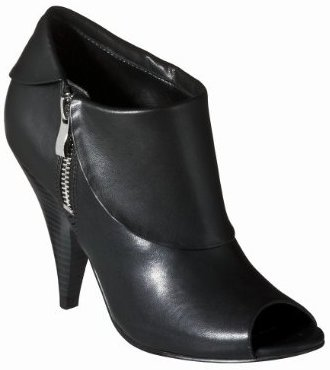 Womens Mossimo Black Kameisha Ankle Bootie
