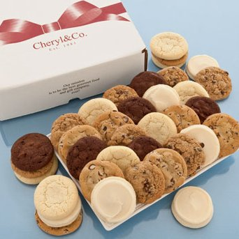 Bake Sale Bow Boxes-Cookies