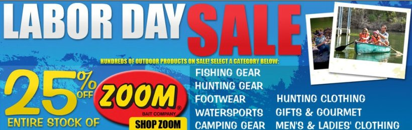 bass pro shops labor day sale