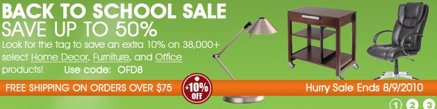 Bellacor Back to School Sale