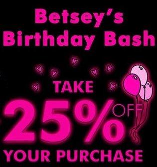 betsey johnson birthday bash