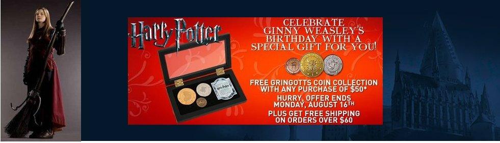 Celebrate Ginny Weasley Birthday