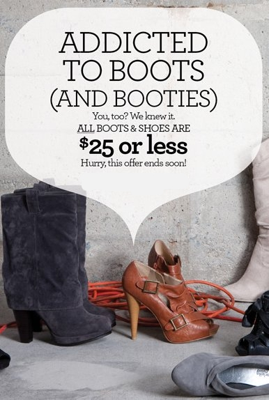Charlotte Russe Shoes Savings