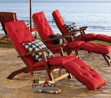 Chesapeake Steamer Chaise & Cushion