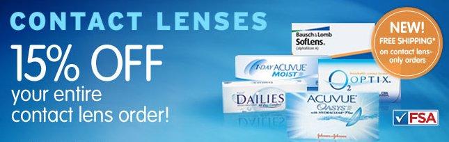 contact lens savings