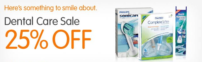 dental products savings
